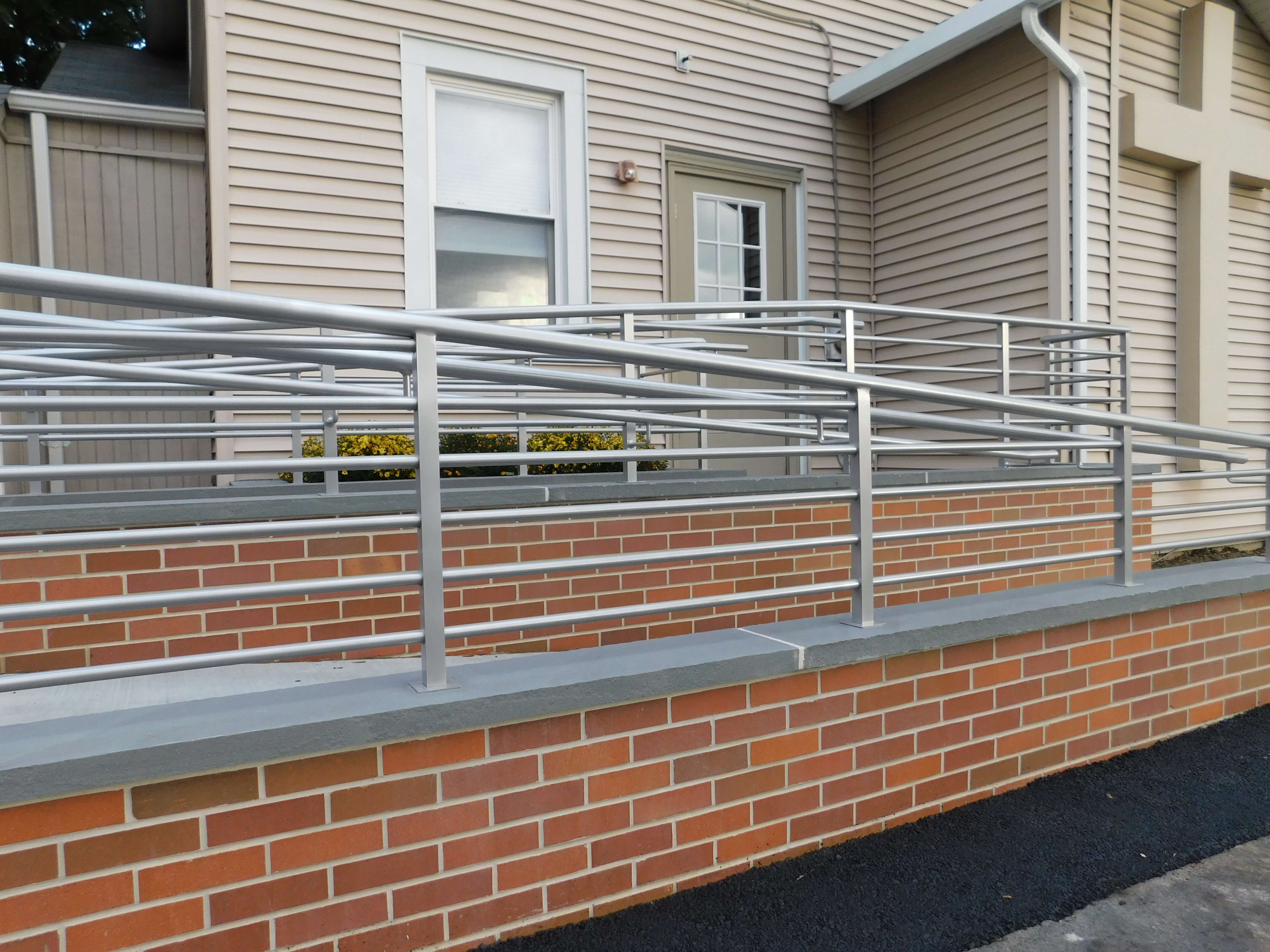 ADA ramp for Parish Center