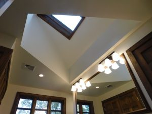 Ceiling With Skylight